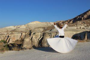 Whirling in love...Cappadocia
